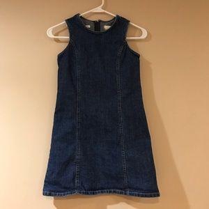 Old Navy Girls Denim Jean Dress sz 8